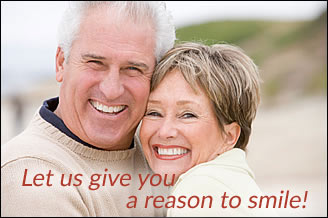 Let us give you a reason to smile!